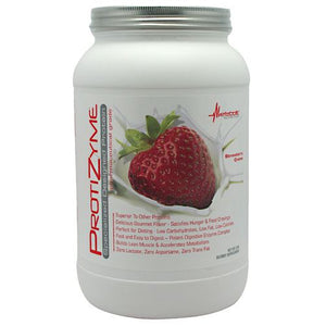 Protizyme Strawberry Creme 2 lbs by Metabolic Nutrition