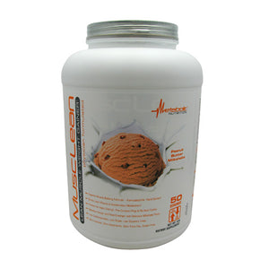 Musclean Peanut Butter 5 lbs by Metabolic Nutrition