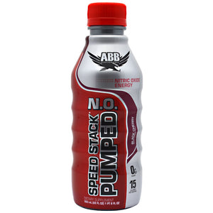 Speed Stack Pumped NO Black Cherry 12/ 22 oz by ABB (2590257905749)