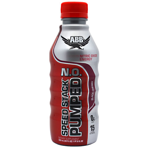 Speed Stack Pumped NO Black Cherry 12/ 22 oz by ABB
