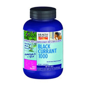 Black Currant Oil 30 Caps by Health From The Sun (2588680126549)