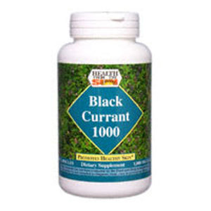 Black Currant Oil 60 Caps by Health From The Sun (2583980376149)