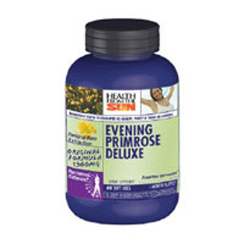 Evening Primrose Oil Deluxe 60 Softgels by Health From The Sun