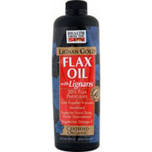 Flax Lignan Gold Organic (RFRG), 16 OZ by Health From The Sun