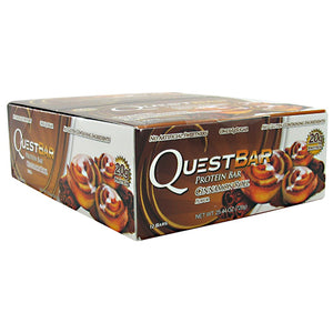 QUEST BAR NAT Cinnamon Roll 12/ 2.12 oz by QUESTBAR (2590262165589)