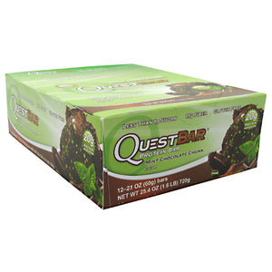 QUEST BAR Mint Chocolate Chunk 12/ 2.1 oz by QUESTBAR (2590262329429)