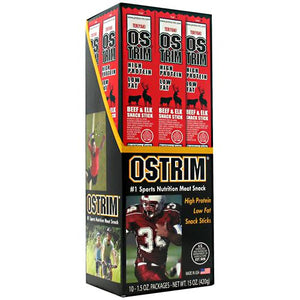 BEEF/ELK STICK Teriyaki 10 / 1.5 oz by Ostrim Natural