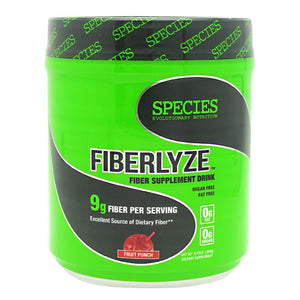 FIBERLYZE Fruit Punch 30 serving by Species Nutrition (2590264852565)