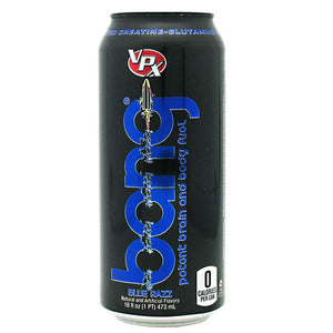Bang Energy Drink Blue Razz 12/16 oz by VPX Sports Nutrition (2590265442389)
