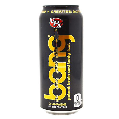 Bang Energy Drink Champagne 12/16 oz by VPX Sports Nutrition