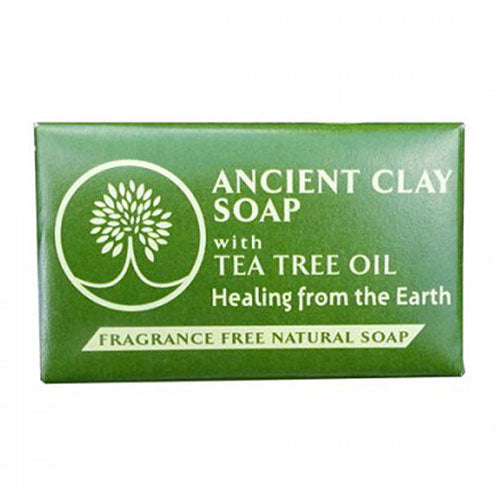 Ancient Clay Soap with Tea Tree 6 OZ by Zion Health
