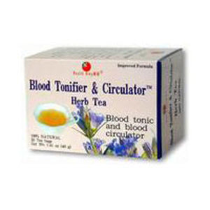 Blood Toner & Circulator Tea 20bg by Health King