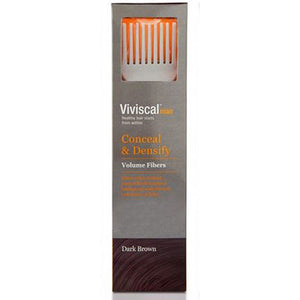Conceal & Densify Volumizing Fibers Light Brown 0.53 OZ by Viviscal (2587704721493)
