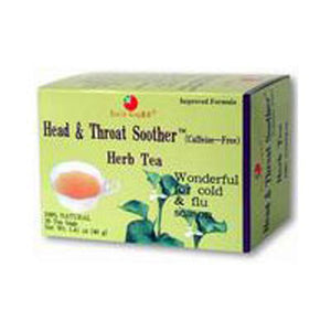 Head & Throat Soother Tea 20bg by Health King (2588854616149)