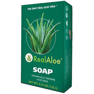 Aloe Vera Bar Soap 4.75OZ by Real Aloe (2590269538389)
