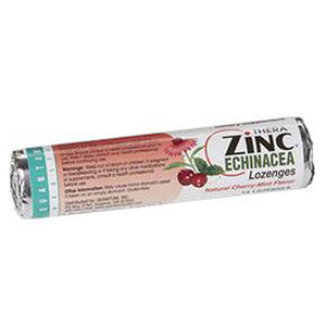 Lozenge Zinc Echin Cherry-Mint 14Ct(case of 12) by Quantum Health (2590270423125)