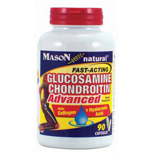 Fast-Acting Glucosamin Chondroitin Advanced 90 Caps by Mason (2587718090837)