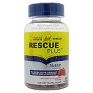 Rescue Plus Sleep Melatonin 60 Lozenges by Bach Flower Essences (2590275633237)