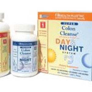 Super Colon Cleanse Day & Night System Kit each by Health Plus