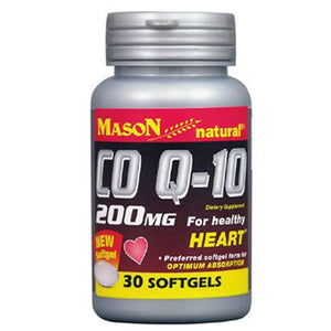 CoQ 10 30 Softgels by Mason