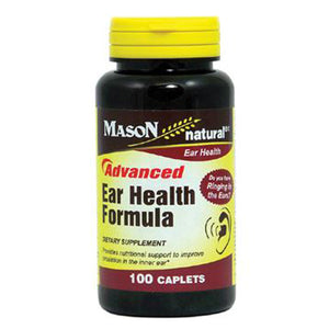 Advanced Ear Health Formula 100 Caps by Mason (2590275731541)