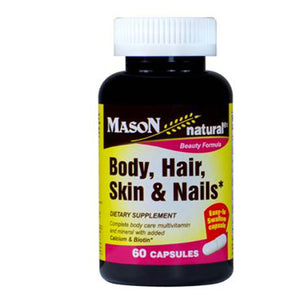 Body - Hair - Skin & Nails Capsules 60 Caps by Mason