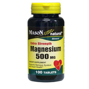 Extra Strength Magnesium 100 Tabs by Mason