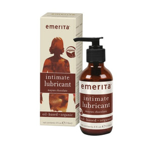 Intimate Lubricant Mayan Chocolate 4 oz by Emerita