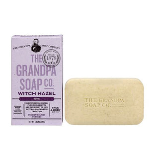 Bar Soap Witch Hazel 4.25 oz by Grandpa's Brands Company (2590276681813)