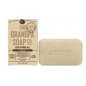 Bar Soap Oatmeal 4.25 oz by Grandpa's Brands Company (2590276747349)
