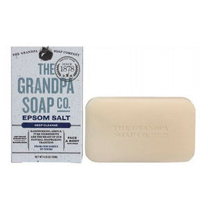 Bar Soap Epsom Salt 4.25 oz by Grandpa's Brands Company (2587722350677)