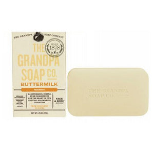Bar Soap Buttermilk 4.25 oz by Grandpa's Brands Company (2587722416213)