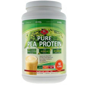 Pure Pea Protein 29.76 oz by Olympian Labs