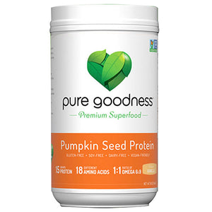 Pumpkin Seed Protein Vanilla 16 oz by Pure Goodness