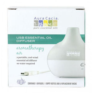 USB Essential Oil Diffuser 1 Count by Aura Cacia