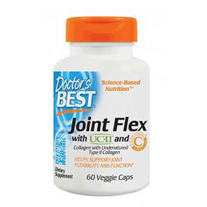 Joint Flex with UC-II and Curcumin C3 Complex 60 Veggi Caps by Doctors Best