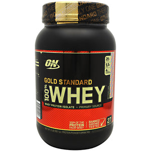 Gold Standard 100% Whey Birthday Cake 2 lbs by Optimum Nutrition