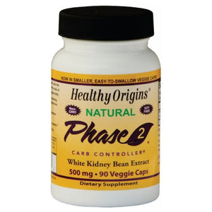 PHASE 2 STARCH NEUTRAL 90 Veg Caps by Healthy Origins (2584104861781)