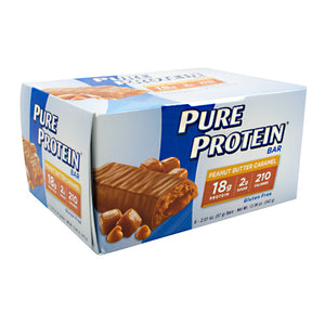 PURE PROTEIN BAR Peanut Butter Caramel 1.76 oz/6 Bars by Pure Protein