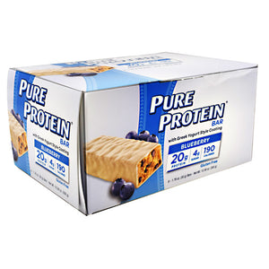 PURE PROTEIN BAR Blueberry 1.76 oz/6 Bars by Pure Protein