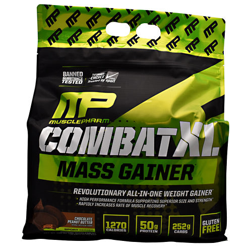 Combat XL Mass Gainer Chocolate 6 lbs by Muscle Pharm
