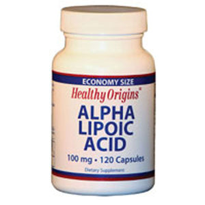 Alpha Lipoic Acid 120 Caps by Healthy Origins (2584124162133)