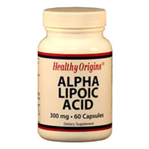 Alpha Lipoic Acid 60 Caps by Healthy Origins (2584124260437)