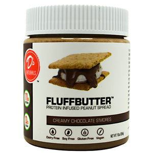 Fluffbutter Protein Spread Brownie Batter 10 oz by D's Naturals