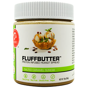 Fluffbutter Protein Spread Salted Caramel Sundae 10 oz by D's Naturals