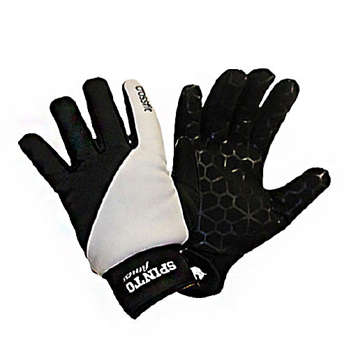 Xfit Gloves Black & White, Small 1 Pair by Spinto USA LLC