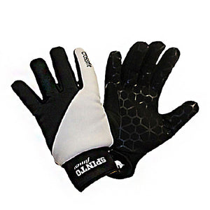 Xfit Gloves Black & White, Extra Large 1 Pair by Spinto USA LLC
