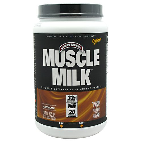 Muscle Milk CHOCOLATE, 2.48 LBS by Cytosport