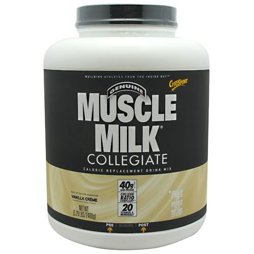 Muscle Milk Collegiate Vanilla Creme 5.29 Lb by Cytosport