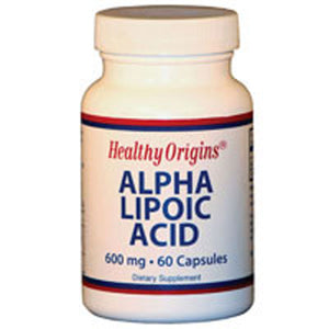 Alpha Lipoic Acid 60 Caps by Healthy Origins (2584246616149)